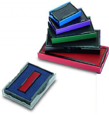 Lot de 3 cassettes d'encrage Colop E/30/6 (bicolore)