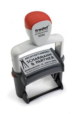 Trodat Metal Line 5206 - Retrouvez toutes les infos Tampons Trodat